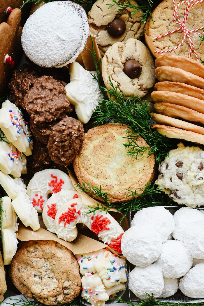Favorite Christmas Cookies.Christmas Cookies Tray Add A Pinch