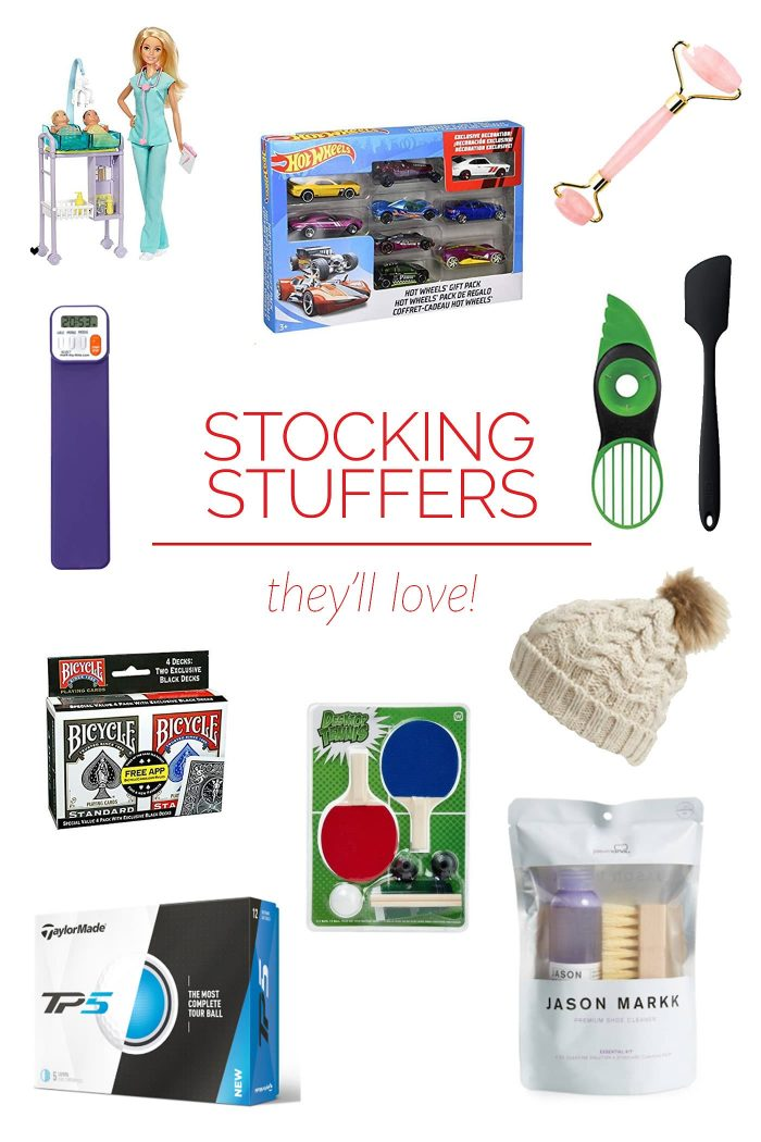 Stocking Stuffers They Are Sure to Love - We have selected our favorite stocking stuffers for this year that are perfect for everyone on your list! // addapinch.com