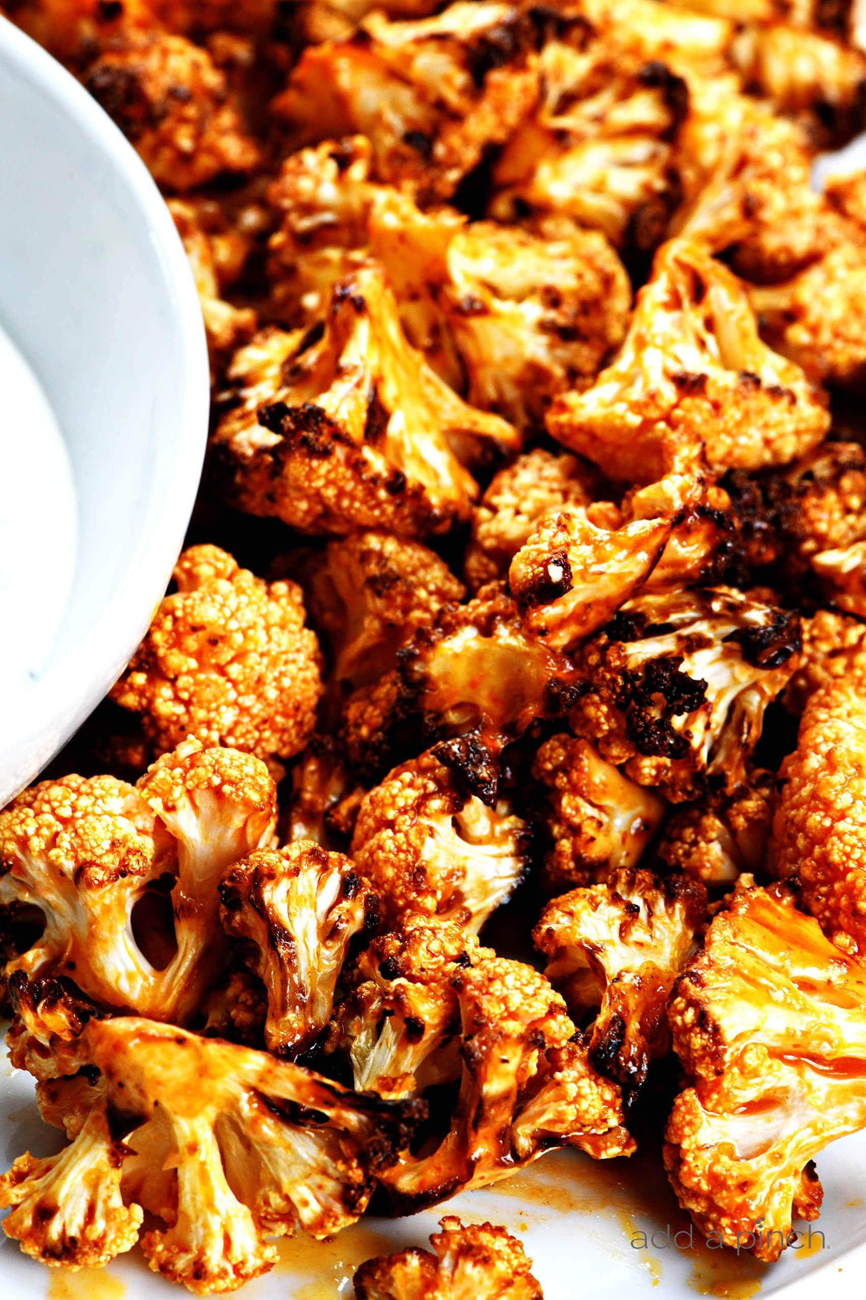 Air Fryer Buffalo Cauliflower Recipe Add A Pinch