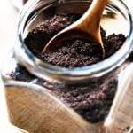 Espresso Power Recipe - Learn how to make your own espresso powder for baking! It is the secret ingredient of many professional bakers and now you can make it in your own home! // addapinch.com