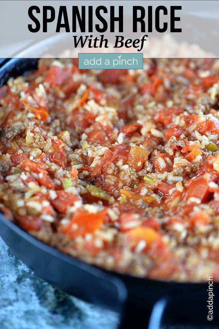 Spanish Rice Recipe With Ground Beef Add A Pinch