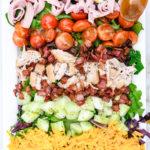 Easy Chicken Club Salad Recipe