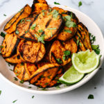 Spicy Grilled Sweet Potatoes Recipe