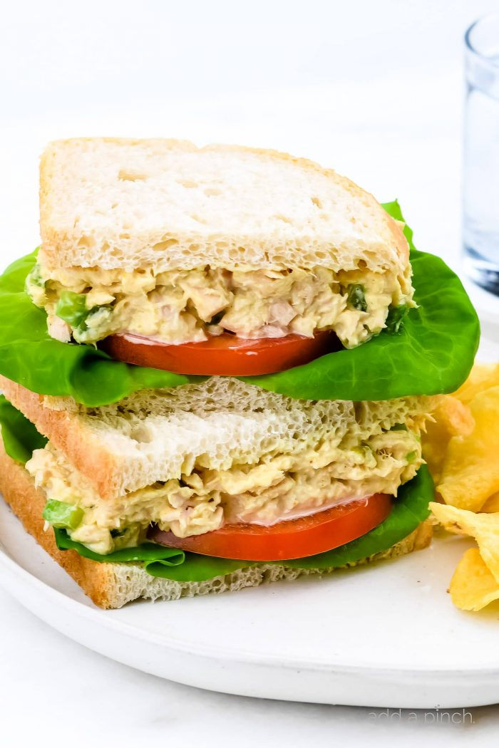 Tuna Salad Sandwich Recipe Add A Pinch
