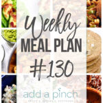 Weekly Meal Plan #130