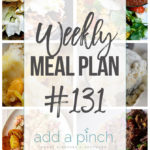 Weekly Meal Plan #131