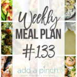 Weekly Meal Plan #133