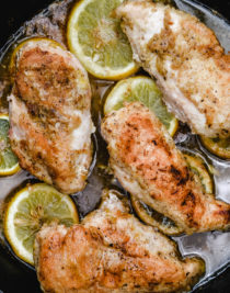 Baked Lemon Pepper Chicken makes a delicious and easy chicken recipe! Perfect weeknight supper for the lemon lover! // addapinch.com