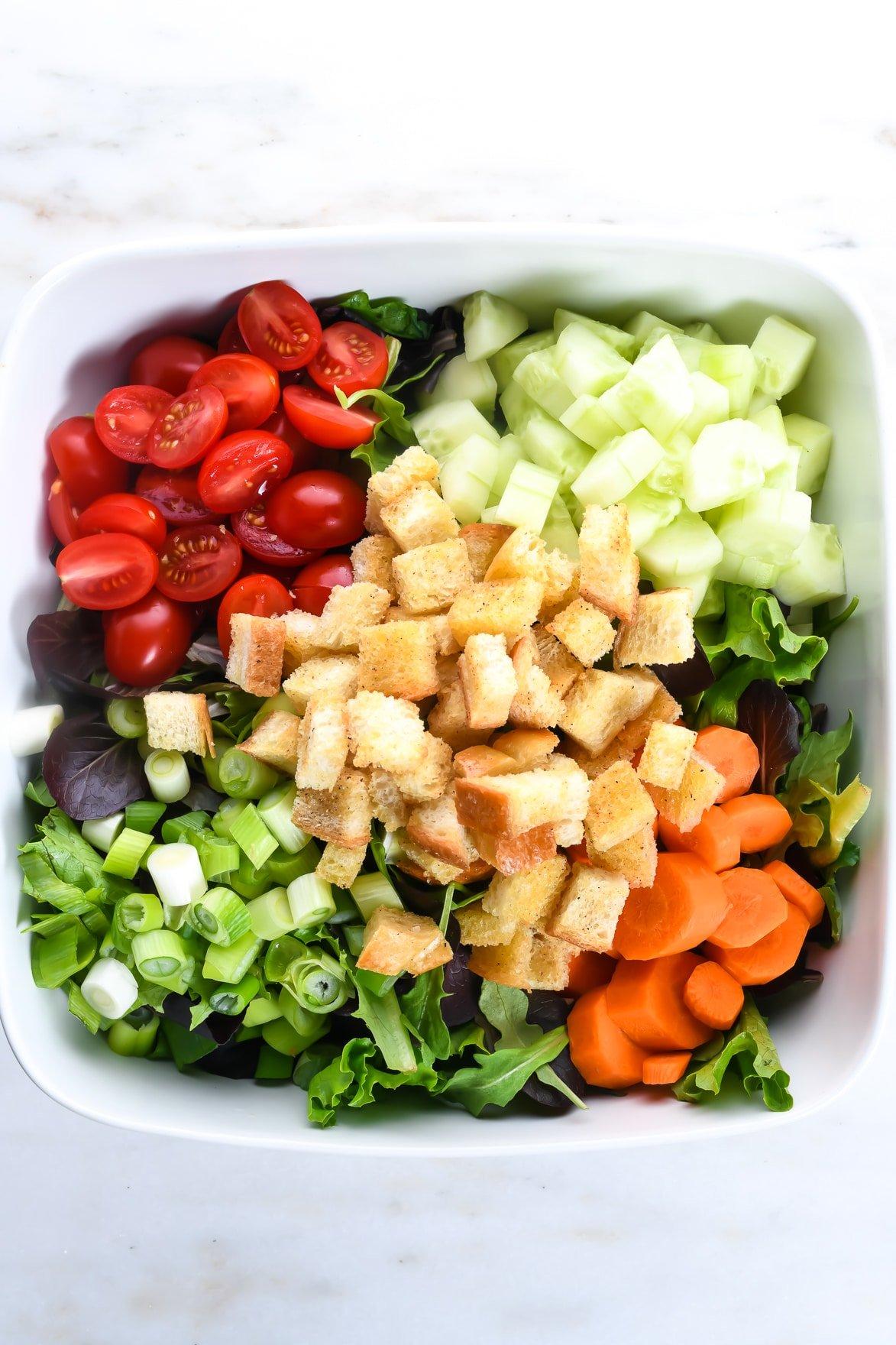 Best House Salad Recipe Add A Pinch
